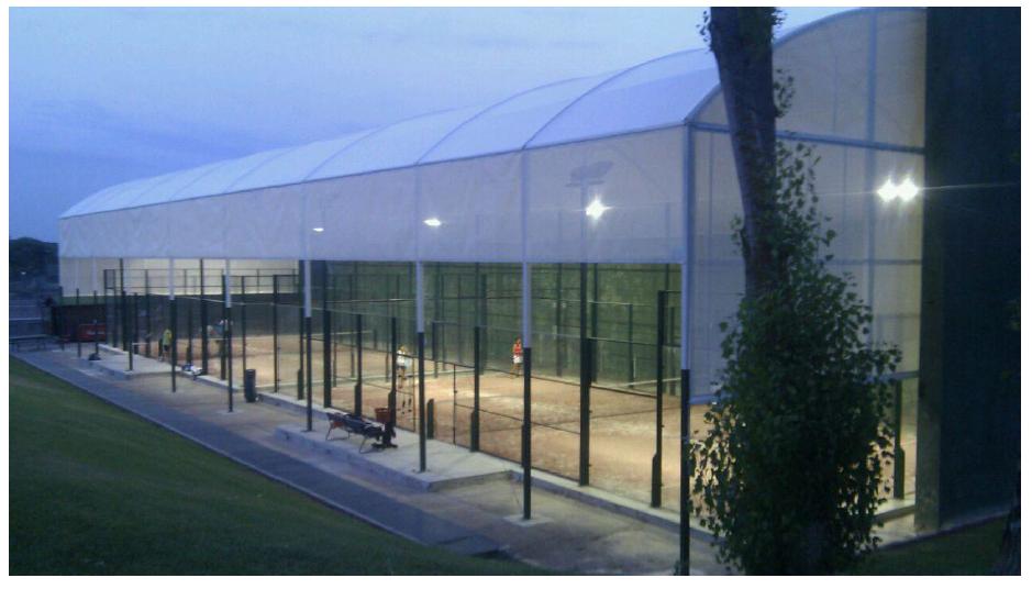 Construcción pistas de tenis Madrid