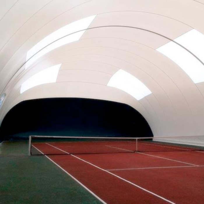 Construcción de pistas de padel y tenis