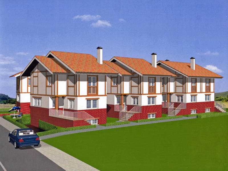 Construcción urbanizaciones de chalets