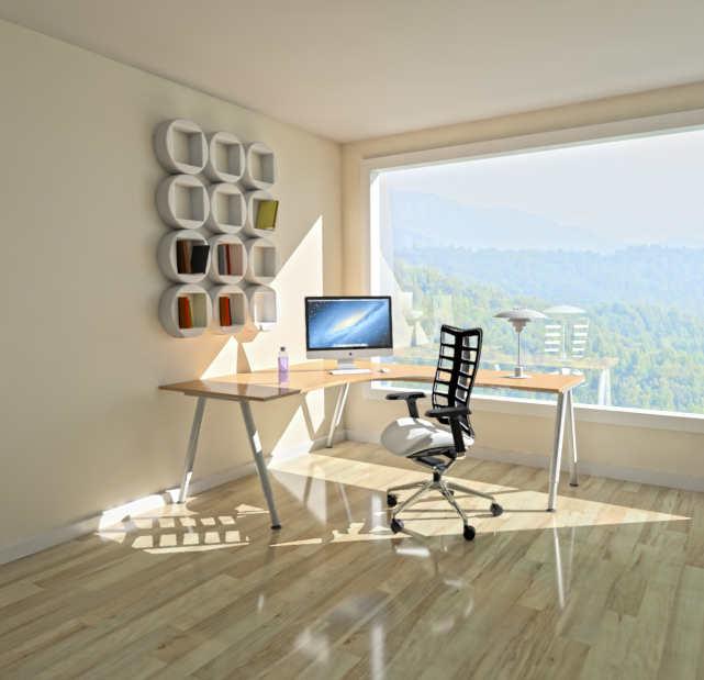 Despacho de vivienda reformada